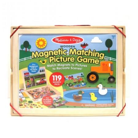 Joc magnetic potriveste piesele Melissa & Doug