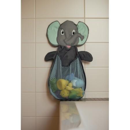 Plasa elefant pentru depozitare jucarii de baie BO Jungle