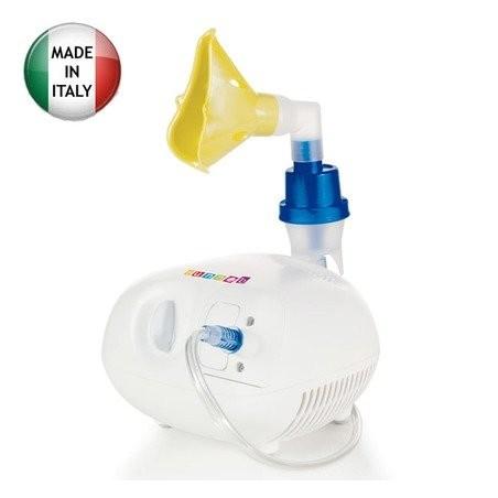 Aparat aerosoli nebulizator cu piston, cu acumulatori, geanta transport, 3A Funneb