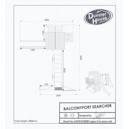 Complex de joaca BalconyFort Searcheru Dnster House