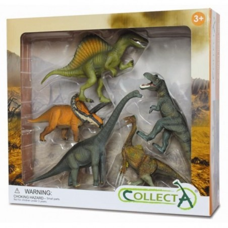 Set 5 figurine preistorice Collecta