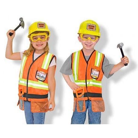 Costum de carnaval jocuri de rol Constructor Melissa and Doug