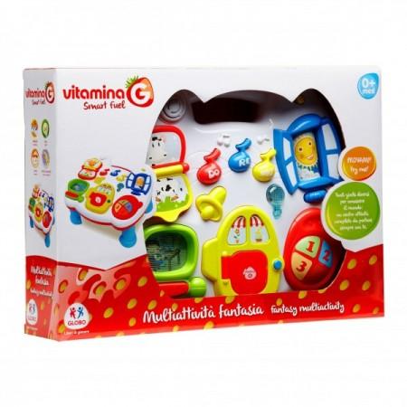 Masuta casuta Vitamina G cu activitati pentru bebelusi