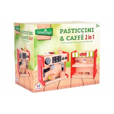 Masina de cafea 2 in 1 cu 12 accesorii Globo