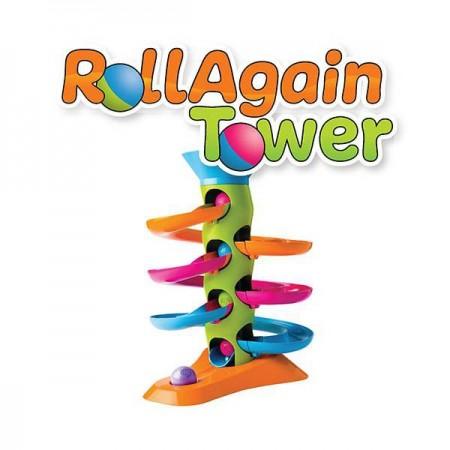 Jucarie Turnulet cu bile RollAgain