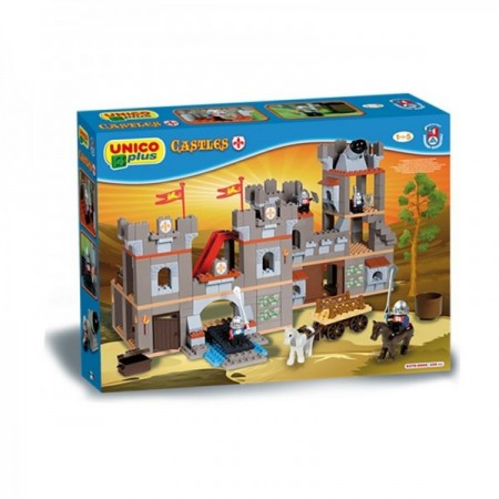 Set cuburi constructie Castel Unico