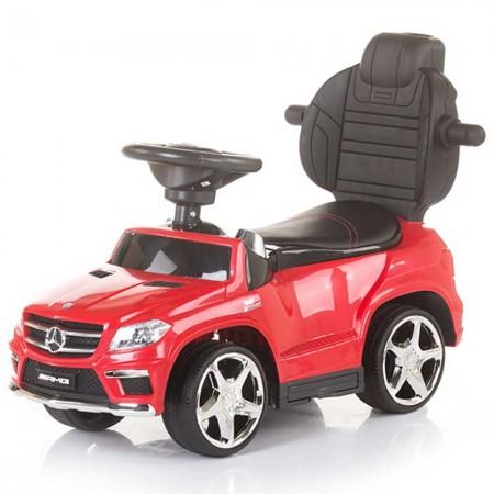 Masinuta de impins cu copertina Chipolino Mercedes Benz GL63 AMG white