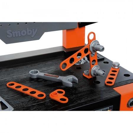 Atelier Smoby Black & Decker Bricolo One cu accesorii