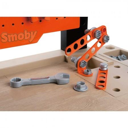 Atelier Smoby Black & Decker Bricolo Center cu accesorii