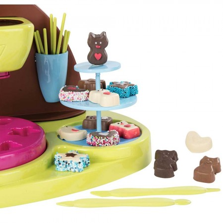 Jucarie Smoby Aparat pentru preparare ciocolata Chef cu accesorii