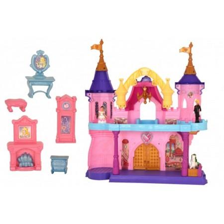 Castel pentru papusi Globo cu sunete lumini si accesorii