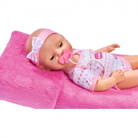 Papusa Simba New Born Baby Bebe 38 cm cu olita si accesorii