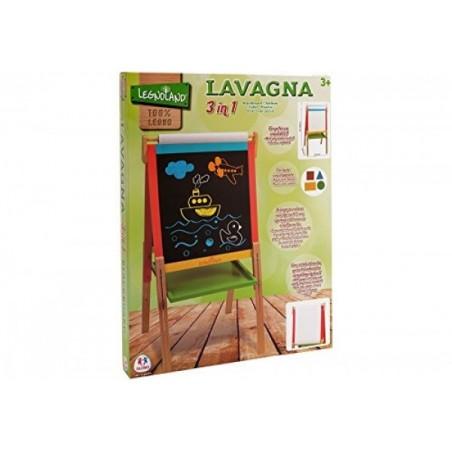 Tabla din lemn 55 cm x 106 cm x 55 cm cu inaltime reglabila Globo