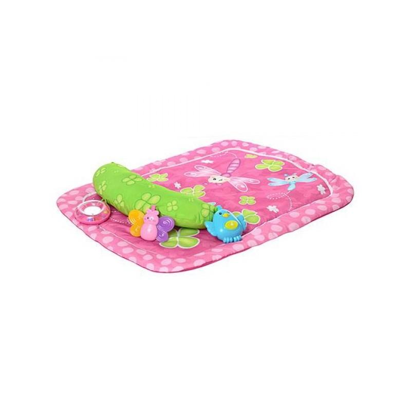 Salteluta de joaca bebelusi cu jucarii detasabile Winfun