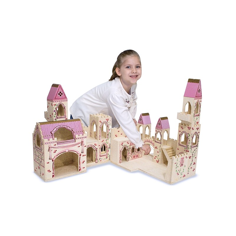 Melissa&Doug - Castelul Printesei (pliabil)
