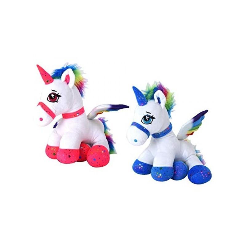 Jucarie plus fetite ponei unicorn din plus 44 cm