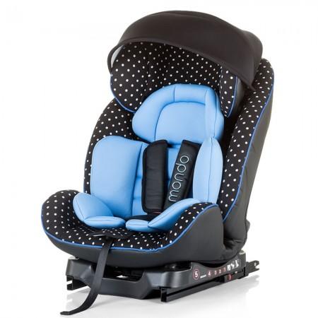 Scaun auto Chipolino Mondo 0-25 kg sky blue cu sistem Isofix
