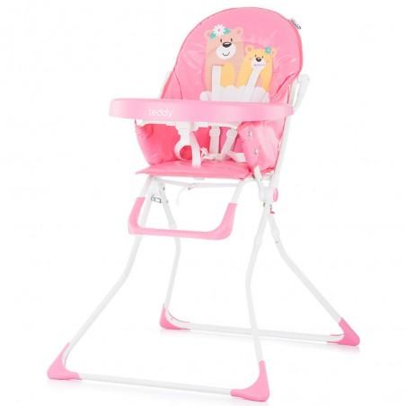 Scaun de masa Chipolino Teddy pink