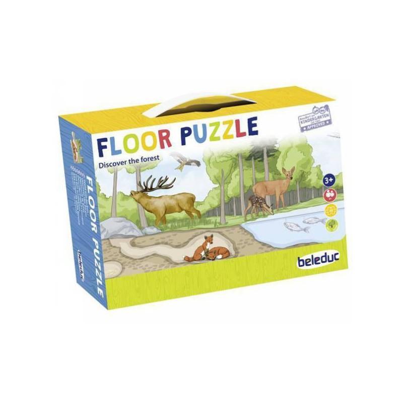 Puzzle de podea Descopera padurea