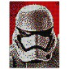 Joc creativ Pixel Art Star Wars Stormtrooper Quercetti 5400 piese