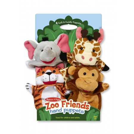 Set 4 papusi de mana Zoo Melissa and Doug
