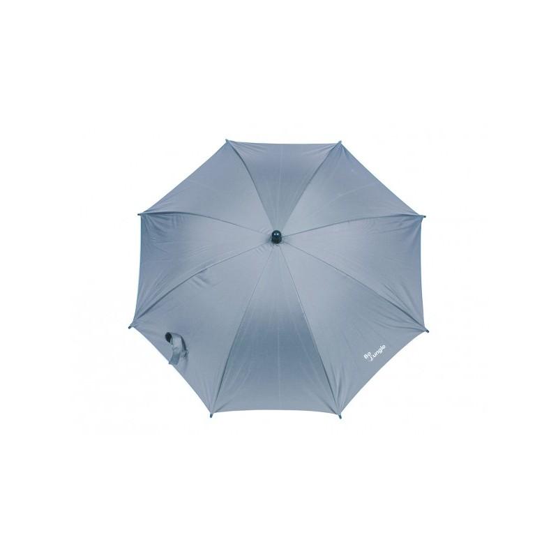 Umbrela pentru carucior copii Bo Jungle gri cu factor protectie UV si prindere universala