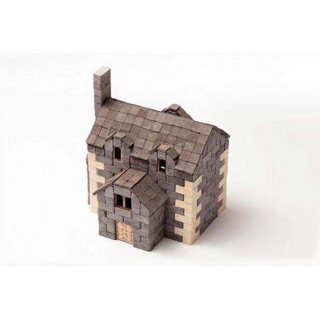 Kit constructie caramizi Wise Elk Casa Englezeasca 500 piese reutilizabile
