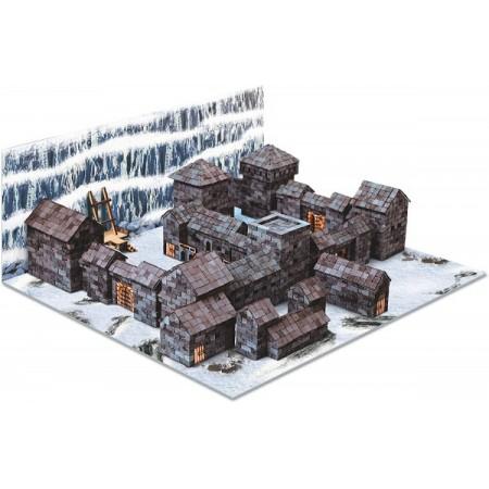 Kit constructie caramizi Wise Elk Castelul Negru 4300 piese reutilizabile