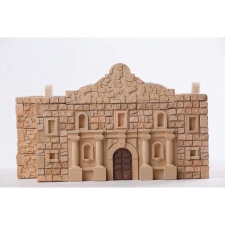 Kit constructie caramizi Wise Elk Fortareata Alamo 510 piese reutilizabile
