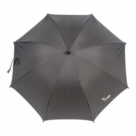 Umbrela pentru carucior copii Bo Jungle Neagra cu factor protectie UV si prindere universala