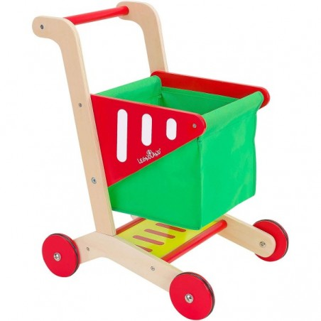 Cos de cumparaturi pentru copii Globo Legnoland 38193 din lemn
