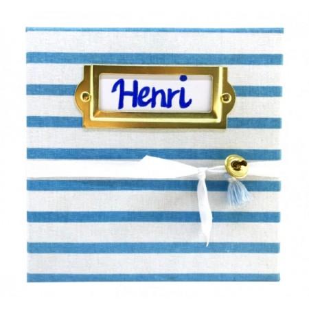 Kit special mulaj amprenta bebelus My Magic Footprint Henri din spuma pentru baieti