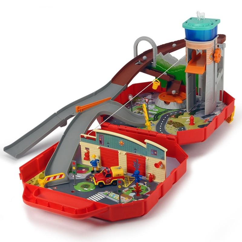 Pista de masini Dickie Toys Fireman Sam Ponty Pandy