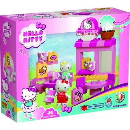 Set petru copii Caffe Bar Hello Kitty Unico 45 piese