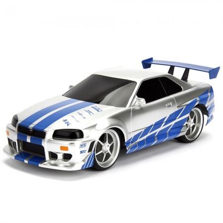 Masina Jada Toys Fast and Furious Nissan Skyline GTR cu telecomanda