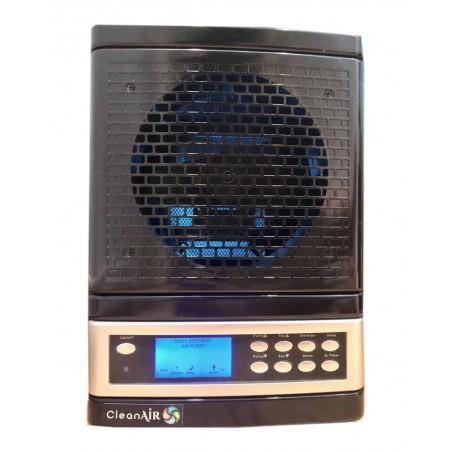 Purificator de aer cu filtru UV, generator ozon, ioni negativi, capacitate 325 m2, Bervolo Uno®