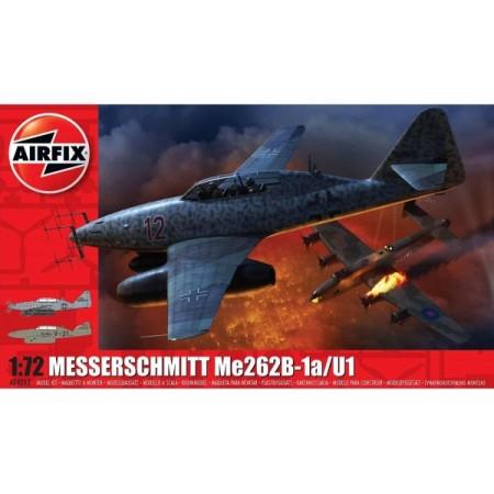 Kit constructie Airfix avion Messerschmitt Me 262B-1a 1:72