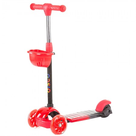 Trotineta Chipolino Disco red black