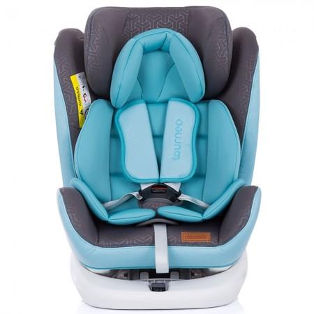 Scaun auto Chipolino Tourneo 0-36 kg baby blue cu sistem Isofix