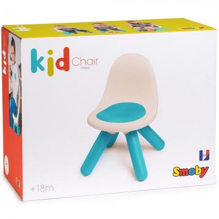 Scaunel cu spatar pentru copii Smoby blue