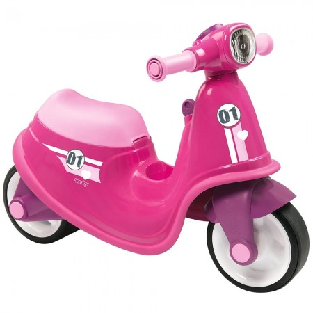 Scuter Smoby Scooter Ride-On pink