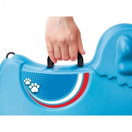 Masinuta de impins tip valiza Big Bobby Trolley blue