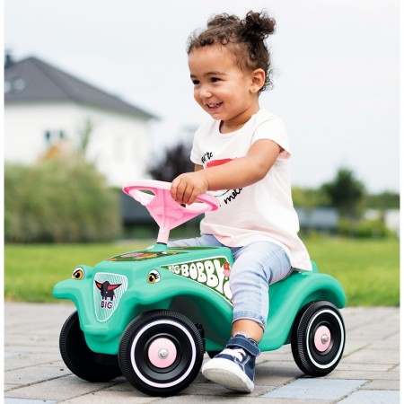Masinuta de impins Big Bobby Car Classic Tropic Flamingo