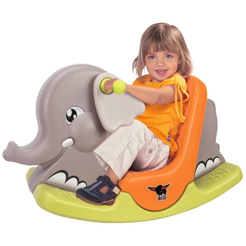 Balansoar Copii 1 An Tip Elefant Scaun Bervolo Ro