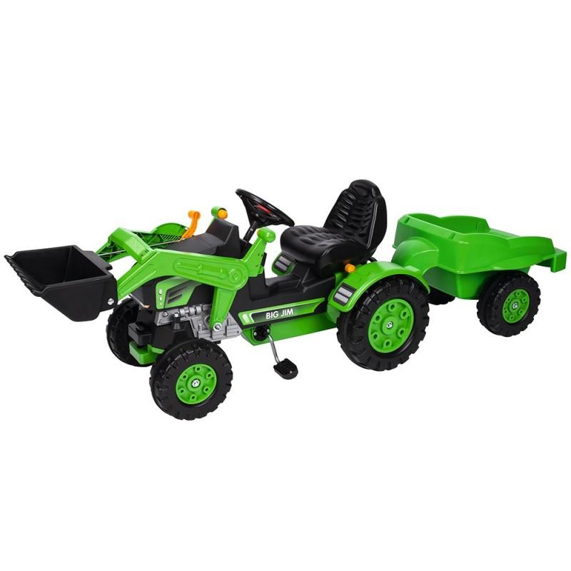 Tractor cu pedale si remorca Big Jim Loader