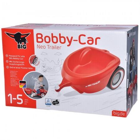 Remorca Big Bobby Car Neo red