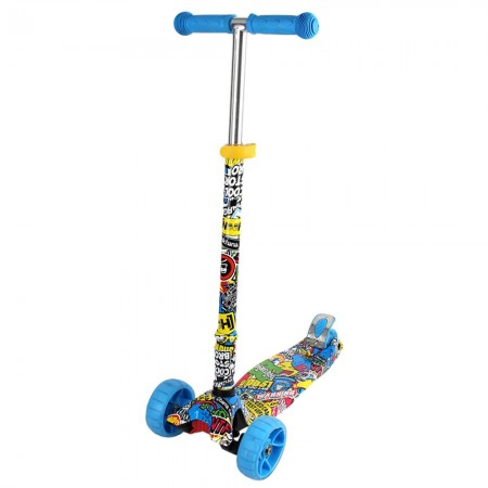 Trotineta Chipolino Croxer Evo colorful grafitti