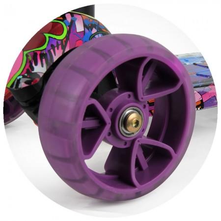 Trotineta Chipolino Croxer Evo purple grafitti