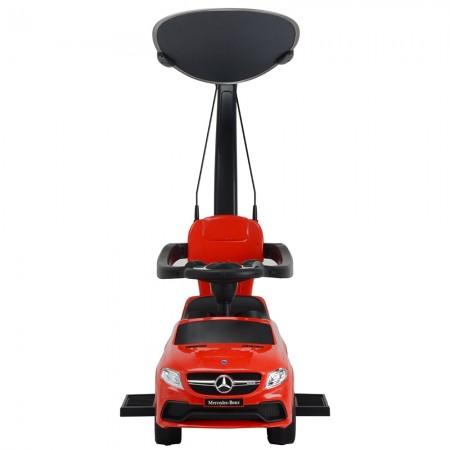 Masinuta de impins cu maner si copertina Chipolino Mercedes AMG GLE 63 red