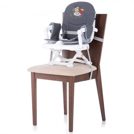 Inaltator scaun de masa Chipolino Lollipop graphite